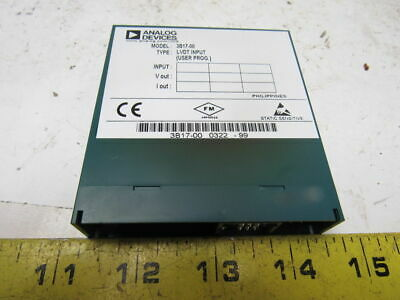 Analog Devices 3B17-00 LVDT Input Module