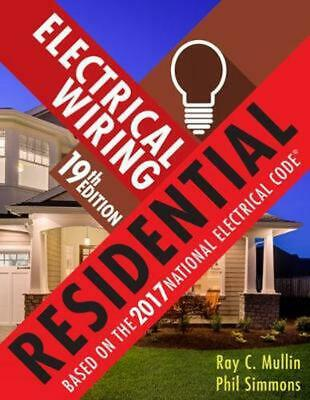 Superb Electrical Wiring Residential By Phil Simmons Hardcover Book Free Wiring Digital Resources Indicompassionincorg