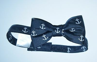 Janie and & Jack Nautical Days Anchor Navy Boys Bow Tie Bowtie Dressy SS1