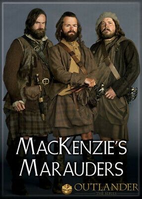 Outlander TV Series Mac Kenzies Mauraders Photo Image Refrigerator Magnet NEW