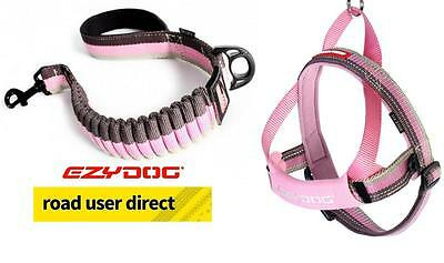 """EzyDog Package - Zero Shock 25"""" Lead & Quick Fit Harness - Extra Large"""
