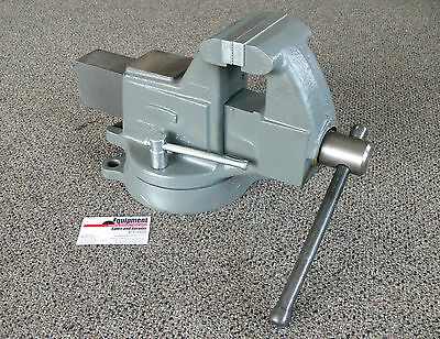 """Columbian 4"""" Machinist Vise with Swivel Base ~ Model 604M3 ~ Made in USA!"""