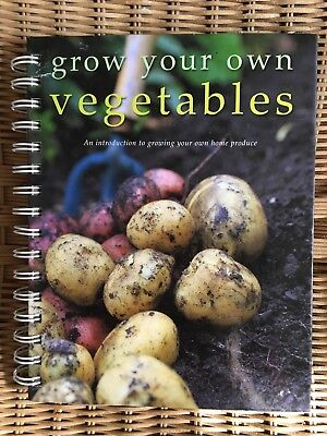Grow Your Own Vegetables Index Book Beginners Guide