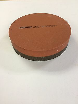 "Norton 61463685545  IB64  4"" Diameter, 1"" Thick Combination India Stone New"