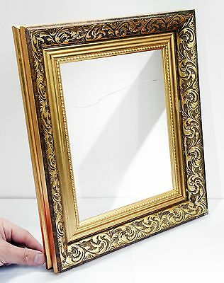 Gorgeous Vintage Wooden Gilt Deep Picture / Photo Frame - 35 x 30 cms. Ornate