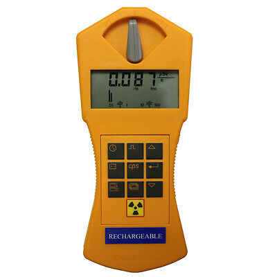 Returned New Gamma Scout Rechargeable Radiation Detector and Geiger Counter
