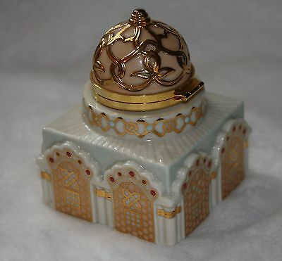 Lenox Empire Collection Mosque Hinged Trinket Box