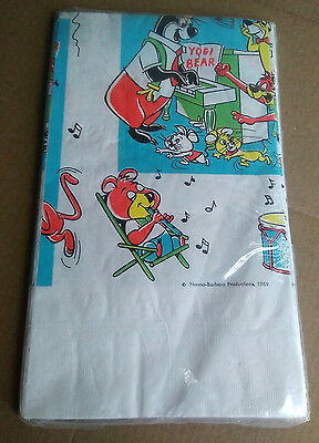 Vintage 1969 Yogi Bear And Friends Table Cover (Unused) Reed's Rembrandt