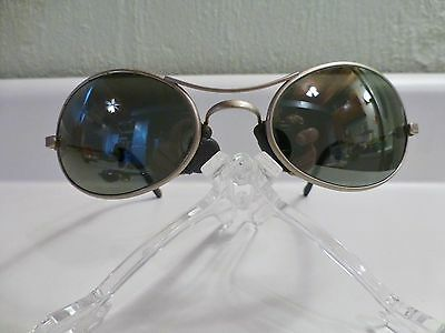 Vintage Ray Ban Orb Oval Sunglasses With Cloth Case