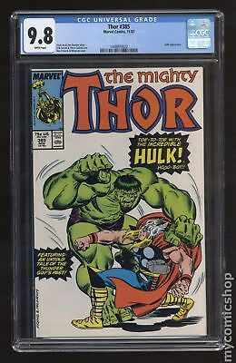 Thor (1962-1996 1st Series Journey Into Mystery) #385 CGC 9.8 1448974022
