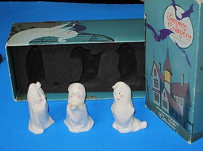 Jeepers Creepers sweet Porcelain spooks Ghosts by Nao Lladro Retired set of 3