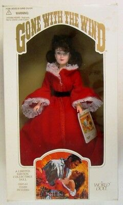 Gone With The Wind: Scarlett Doll Red Dressing Gown (Limited Edition)