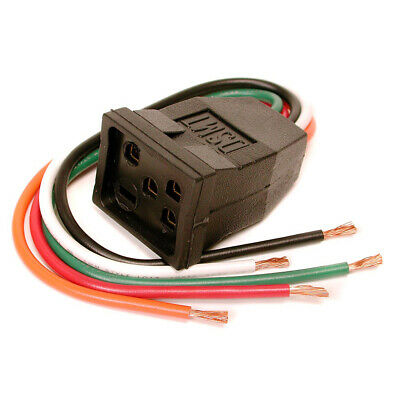 Dial 7583 Pigtail Motor Receptacle 115-230V/15A 14 GA Wire