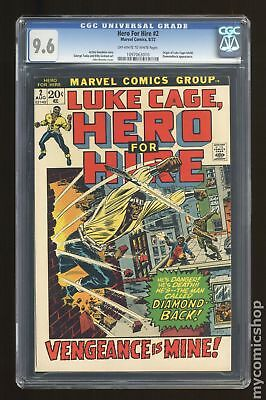 Power Man and Iron Fist (1972 Hero for Hire) #2 CGC 9.6 1097063010