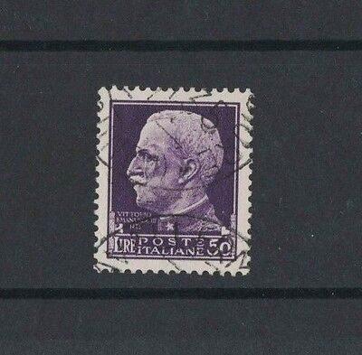 1929 Italy Imperial Series King Emmanuele SG 259 genuine fine used