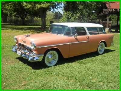 1955 Chevrolet Other 2 Door Nomad Wagon Classic 1955 Chevrolet Nomad 327/350 PS PDB AC PW Power Seat 56 57