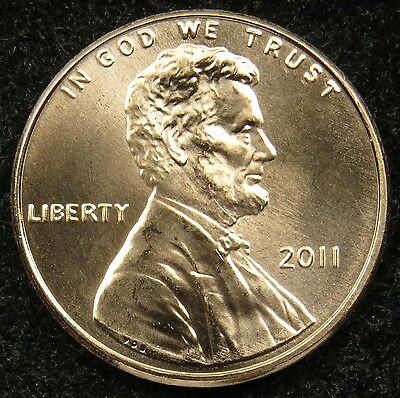 2011 Uncirculated Lincoln Shield Cent Penny BU (B01)