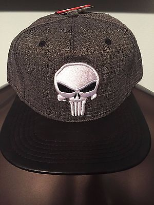 the latest 33590 8fdce The PUNISHER Marvel COMIC Book SKULL Stan Lee movie MEN S New Snapback HAT  Cap
