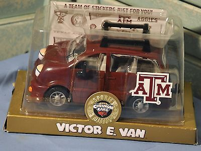Chevron Cars Sports Edition Victor E. Van Texas A&M Aggies College Techron NIP
