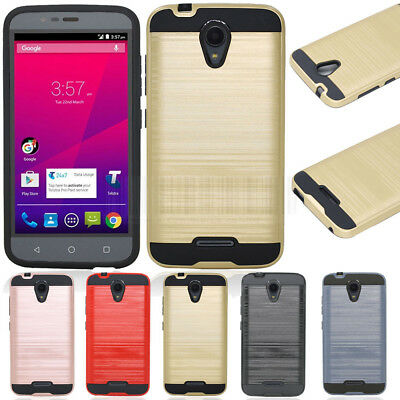 Hybrid Protective Cover Armor Case  For Telstra 4GX Plus / ZTE Blade A462 A310