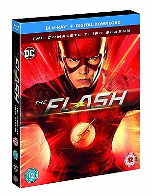 The Flash  Complete Third Season 3 (2017) Blu Ray New And Sealed Region B (Aus)