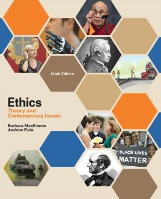 Ethics Theory Contemporary Issues, Fiala, Andrew (Fresno State Un. 9781305958678