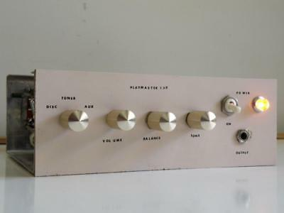 1970s VINTAGE PLAYMASTER 130 STEREO AMPLIFIER EA PROJECT, BALANCE CONTROL STUCK