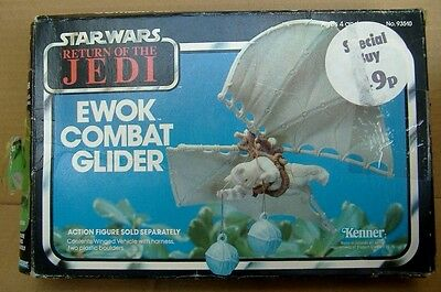 Star Wars Ewok Combat Glider Vintage '83 Kenner BOX ONLY 'Return of the Jedi'