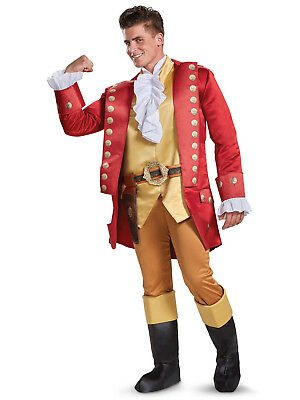 Disney's Beauty and the Beast Live Action Gaston Deluxe Adult Costume