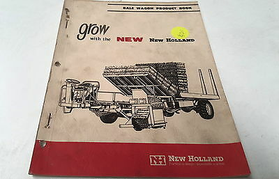 1967  NEW HOLLAND BALE WAGON PRODUCT Book