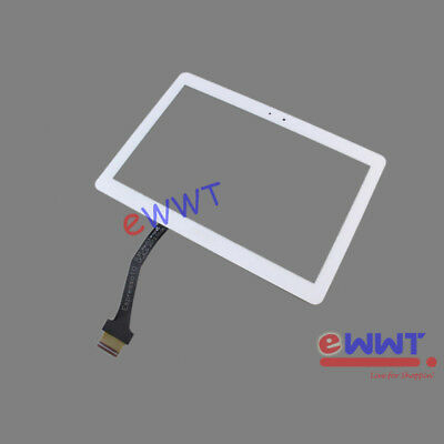 for Samsung Galaxy Note 10.1 N8010 * White Touch Screen Digitizer Glass OQLT471