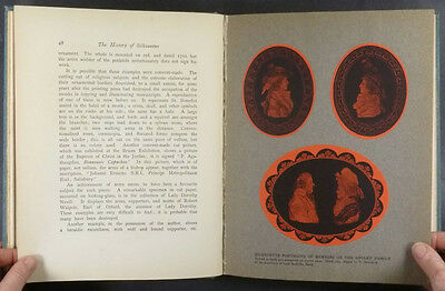 Book: Antique Silhouettes & Silhouette Cutters - 1911 English Book by Jackson