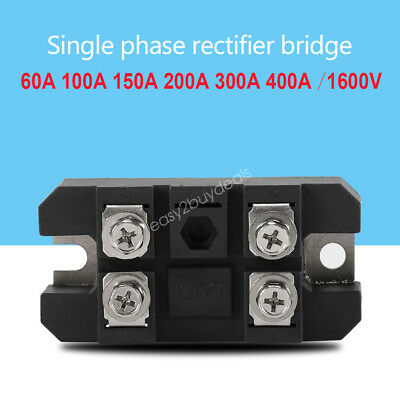 Hot 1600V Bridge Rectifier Full Wave Single-phase Diodes 60/100/150/200/300/400A