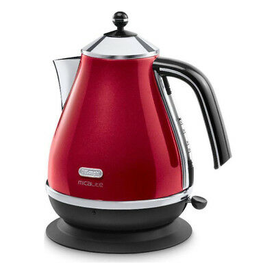 DeLonghi KBOM3001R Micalite Jug Kettle with 3000W Power and 1.7L Capacity in
