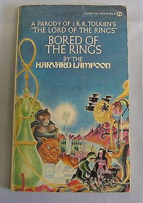 Bored of the Rings by Harvard Lampoon (pbk) 1969 version