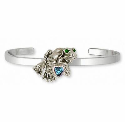 Frog Bracelet Jewelry Silver And Gold Handmade Frog Bracelet FG3-TNCB