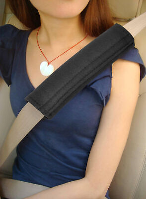 Car Seatbelt Comfort Pads Hook and Loop Strap Travel Cushion - By TRIXES