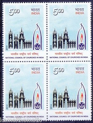 National Council of Churches in India, 2014 MNH Blk -  R28