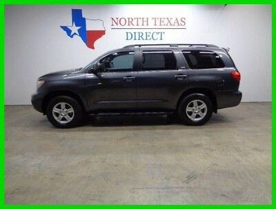 2011 Toyota Sequoia SR5 V8 Leather Heated Seats Sunroof 3rd Row 2011 SR5 V8 Leather Heated Seats Sunroof 3rd Row Used 4.6L V8 32V Automatic SUV