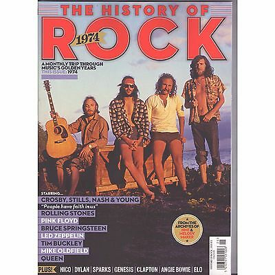 Uncut - The History Of Rock - Issue 10 (1974, Csny, Springsteen, Led Zep ) New