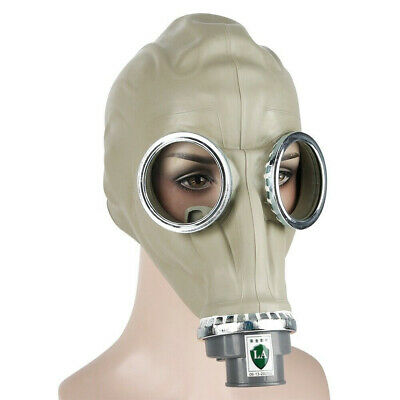 Real Army Military Full Gas Mask With Filter Chemical Nuclear Biological Warfare