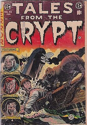 Tales From The Crypt   # 45  1954    Golden Age Horror