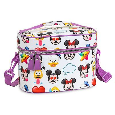 Disney Store World Of Disney Emoji School Lunch Tote Box Bag