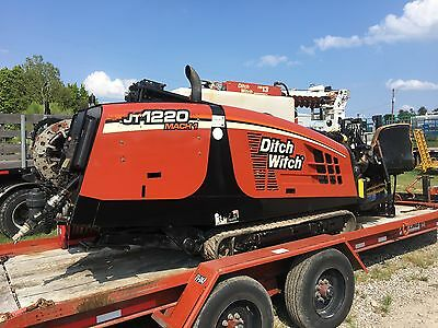 08 Ditch Witch JT1220 Mach I Directional Drill Package