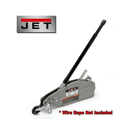 JET 1.5-Ton Wire Rope Grip Puller ~ Model: JG-150A (No Cable)