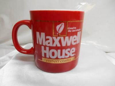 Old Vtg MAXWELL HOUSE Instant Coffee MUG Cup FPC England Advertising