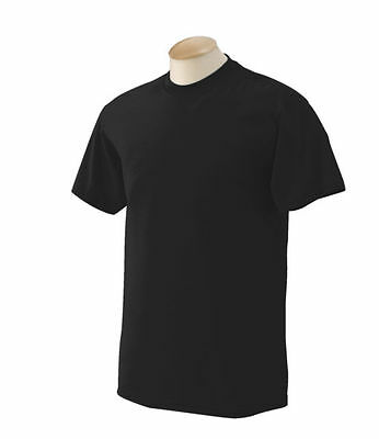 Men's Gem Rock Black/Black Crew Neck T-Shirt Size Medium