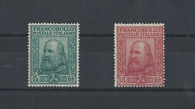 Italy 1910 Plebiscite in Napels and Sicily SG 81/2 mlh toning