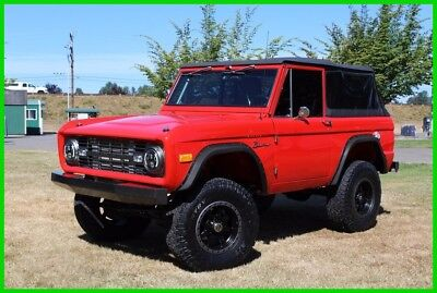 1966 Ford Bronco Early automatic Bronco with lots of great mods 1966 Ford Bronco - Frame Off Restoration - BUILT!
