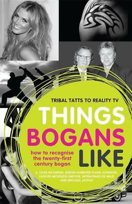 NEW Things Bogans Like By E. Chas McSween Paperback Free Shipping